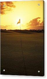Kapalua Golf Club Acrylic Print by Carl Shaneff - Printscapes