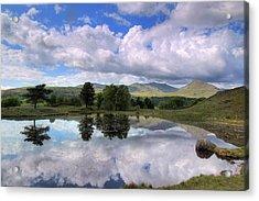 Kelly Hall Tarn - Lake District Acrylic Print by Joana Kruse