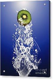Kiwi Splash Acrylic Print