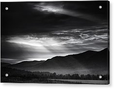 Light From Above Acrylic Print by Andrew Soundarajan