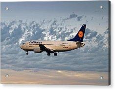 Lufthansa Boeing 737-300 Acrylic Print