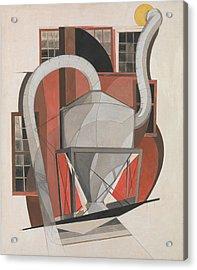 Machinery Acrylic Print by Charles Demuth
