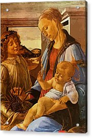 Mary And Child Acrylic Print by Christian Art