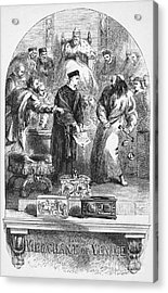 Merchant Of Venice Acrylic Print by Granger