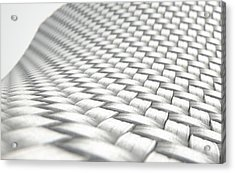 Micro Fabric Weave Clean Acrylic Print