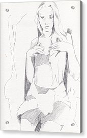Missy - Sketch Acrylic Print
