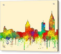 Mobile Alabama Skyline Acrylic Print