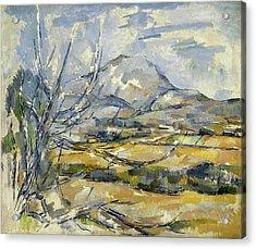Montagne Sainte Victoire Acrylic Print