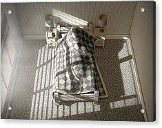 Morning Sleep In Acrylic Print by Allan Swart
