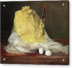 Mound Of Butter Acrylic Print
