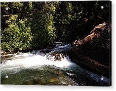 Mountain  River Acrylic Print by Mark Smith