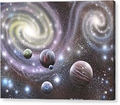 mULTIVERSE 223 Acrylic Print by Sam Del Russi