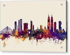 Mumbai Skyline India Bombay Acrylic Print