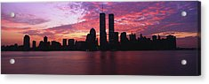 New York Ny Acrylic Print by Panoramic Images