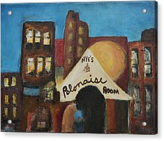 Acrylic Print featuring the painting Nye's Polonaise Room by Susan Stone