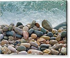 Ocean Stones Acrylic Print
