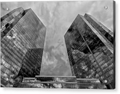 Office Buildings White Plains Ny Acrylic Print