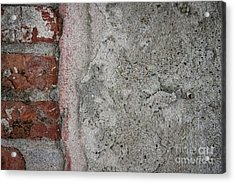 Old Wall Fragment Acrylic Print by Elena Elisseeva