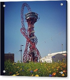 #olympics #london2012 #london Acrylic Print by Nerys Williams