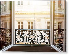 Open Window In Toulouse Acrylic Print by Elena Elisseeva