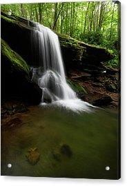 Otter Falls - Seven Devils, North Carolina Acrylic Print
