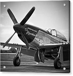 P 51 Mustang Acrylic Print