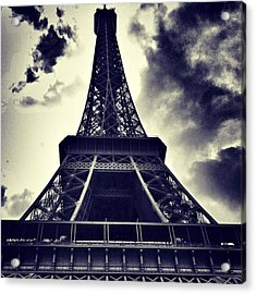#paris Acrylic Print by Ritchie Garrod