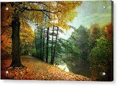 Peaceful Path Acrylic Print