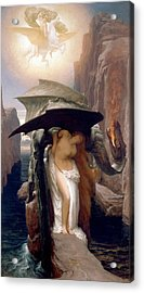 Perseus And Andromeda Acrylic Print by Frederic Leighton