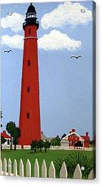 Ponce Inlet Lighthouse Acrylic Print by Frederic Kohli