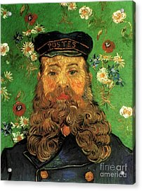 Portrait Of The Postman Joseph Roulin Acrylic Print