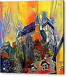 Prague Church - My Www Vikinek-art.com Acrylic Print