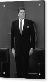 President Ronald Reagan Acrylic Print by War Is Hell Store