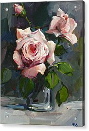 Roses Acrylic Print by Tigran Ghulyan