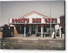 Rosies Den Cafe   Acrylic Print