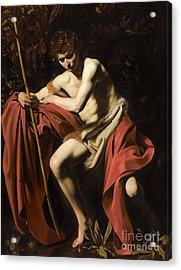 Saint John The Baptist In The Wilderness Acrylic Print