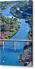 Shasta Dam Spillway Acrylic Print