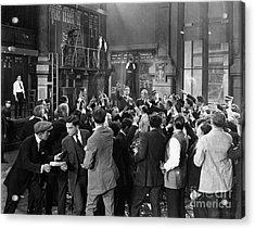 Silent Film Still: Crowds Acrylic Print by Granger