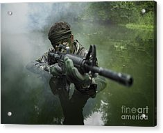 Special Operations Forces Soldier Acrylic Print