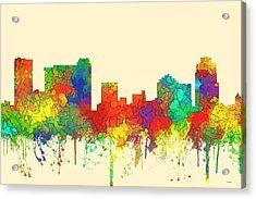 St Petersburg Florida Skyline Acrylic Print