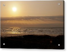 Sunrise At Beach Acrylic Print