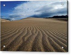 Sunrise At Great Sand Sunes Np Acrylic Print