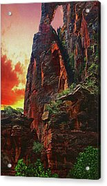 Sunrise In Canyonlands Acrylic Print