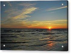 Sunset  Acrylic Print by Eva Ramanuskas