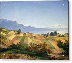Swiss Landscape Acrylic Print