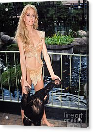 Tanya Roberts As Queen Sheena Acrylic Print by MMG Archives
