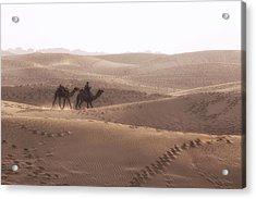 Thar Desert - India Acrylic Print by Joana Kruse