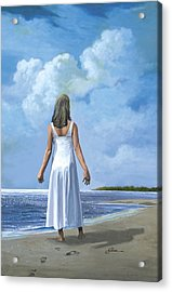 The Awakening Acrylic Print by Harold Shull