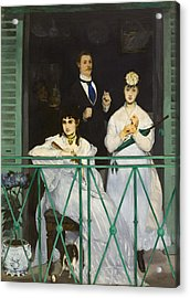 The Balcony Acrylic Print by Edouard Manet