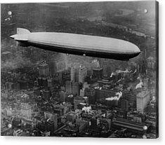 The Lz 129 Graf Zeppelin Acrylic Print by Everett